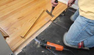 houten vloer laminaat verwijderen